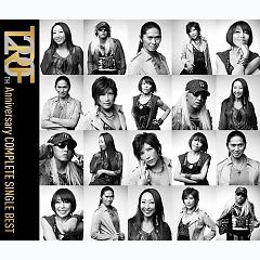 TRF 20th Anniversary Complete Single Best (CD1) - TRF