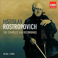 The Complete EMI Recordings CD3 - Mstislav  Rostropovich