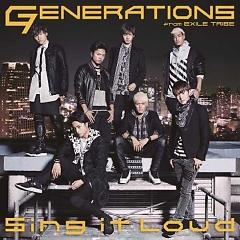 Sing it Loud - GENERATIONS from EXILE TRIBE