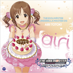 THE iDOLM@STER CINDERELLA MASTER 013 Airi Totoki - THE iDOLM@STER