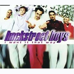 I Want It That Way (CDS) - Backstreet Boys