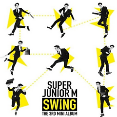 Swing (3rd Mini Album) - Super Junior M