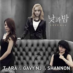 Day And Night / Love All,Gavy N.J,Shannon - T-ARA