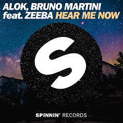 Hear Me Now (Single), Bruno Martini, Zeeba - Alok