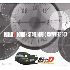 Initial D Fourth Stage Music Complete Box (CD4) - Initial D