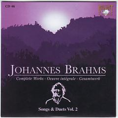 Johannes Brahms Edition: Complete Works (CD46) - Various Artists