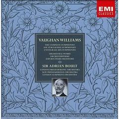 Vaughan Williams - The Complete Symphonies & Orchestral Works CD 1 - Adrian Boult ft. London Symphony Orchestra ft. London Philharmonic Orchestra