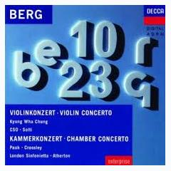 Violin Concerto; Chamber Concerto - Kyung-wha Chung ft. Sir Georg Solti ft. Chicago Symphony Orchestra