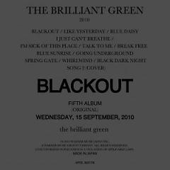 Black out - The Brilliant Green