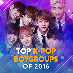 Top K-Pop Boygroups Of 2016 - Various Artists