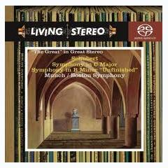 Schubert - Symphonies 8 And 9,Boston Symphony Orchestra - Charles Munch