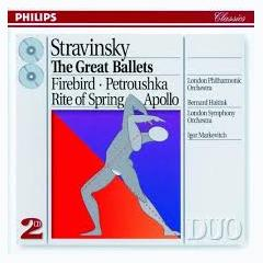 Stravinsky - The Great Ballets CD 2 (No. 2) - Igor Markevitch