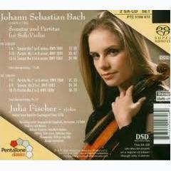 Bach:Sonatas And Partitas For Violin Solo CD1 - Julia Fischer