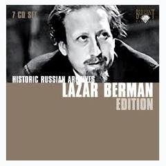 Historic Russian Archives CD5 - Lazar Berman