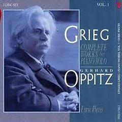 Grieg: Complete Solo Piano Music Vol.1 No.2 - Gerhard Oppitz