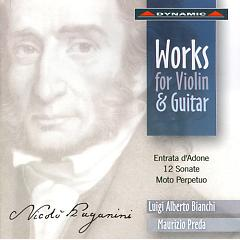 Nicolo Paganini  Complete Works For Violin And Guitar CD1 - Nicolo
