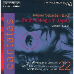 Bach - Cantatas Vol 22 CD2,Masaaki Suzuki - Bach Collegium Japan