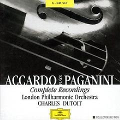 Accardo Plays Paganini - Complete Recordings CD3 - London Philharmonic Orchestra ft. Salvatore Accardo ft. Charles Dutoit