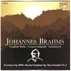 Johannes Brahms Edition: Complete Works (CD4) - Various Artists