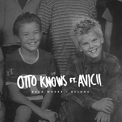 Back Where I Belong (Single) - Otto Knows