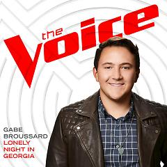 Lonely Night In Georgia (The Voice Performance) (Single) - Gabe Broussard