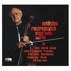 Mstislav Rostropovich Plays Cello Works CD6 - Mstislav  Rostropovich