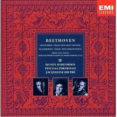 Beethoven - Piano Trios, Violin And Cello Sonatas CD 8 - Daniel Barenboim ft. Jacqueline du Pré ft. Pinchas Zukerman