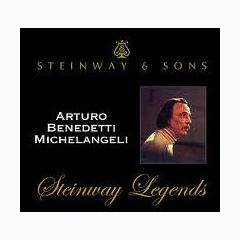 Steinway Legends Vol 10 I - Arturo Benedetti Michelangeli