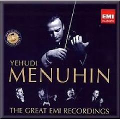 Yehudi Menuhin: The Great EMI Recordings CD 14 - Yehudi Menuhin
