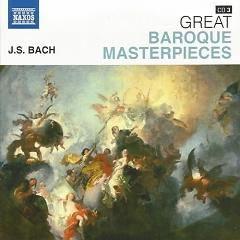 Naxos 25th Anniversary The Great Classics Box #8 - CD 3 Bach - Brandenburg Concertos 4, 5 & etc - Various Artists