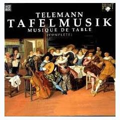 Tafelmusik - Musique De Table CD 4 (No. 2) - Pieter-Jan Belder