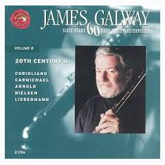 60 Years, 60 Flute Masterpieces Vol. 8 -  20th Century, Part II Disc 1 - James Galway