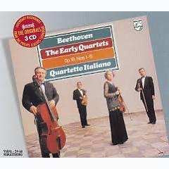 Beethoven - The Early Quartets - Op. 18, Nos. 1 - 6 CD 1 - Quartetto Italiano