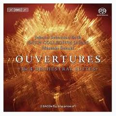 Bach - Overtures;Ouvertures - The 4 Orchestral Suites CD 1 (No. 1),Bach Collegium Japan - Masaaki Suzuki