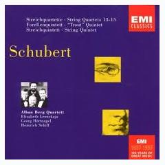 Schubert - String Quartets Nos. 13 - 15; String Quintet; Trout Quintet CD 1 - Alban Berg Quartet