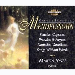 Mendelssohn - Complete Piano Music Disc 6 (No. 2) - Martin Jones