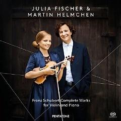 Schubert - Complete Works For Violin And Piano CD 2,Martin Helmchen - Julia Fischer