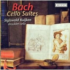 Bach - Cello Suites, Shoulder - Cello CD 2 - Sigiswald Kuijken