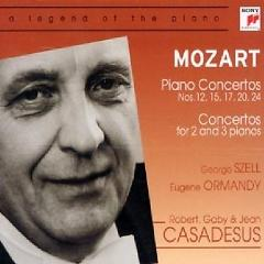 Mozart - Piano Concertos, Concertos For 2 And 3 Piano Vol 2 CD 1 - George Szell