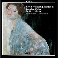 Erich Wolfgang Korngold - Complete Works For Violin & Piano - Andreas Frölich