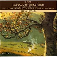 Liszt Complete Music For Solo Piano Vol.24 - Beethoven And Hummel Septets Disc 1 - Leslie Howard