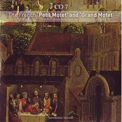 Sacred Music - CD 7 - The French Petit Motet And Grand Motet (CD 2) - Various Artists
